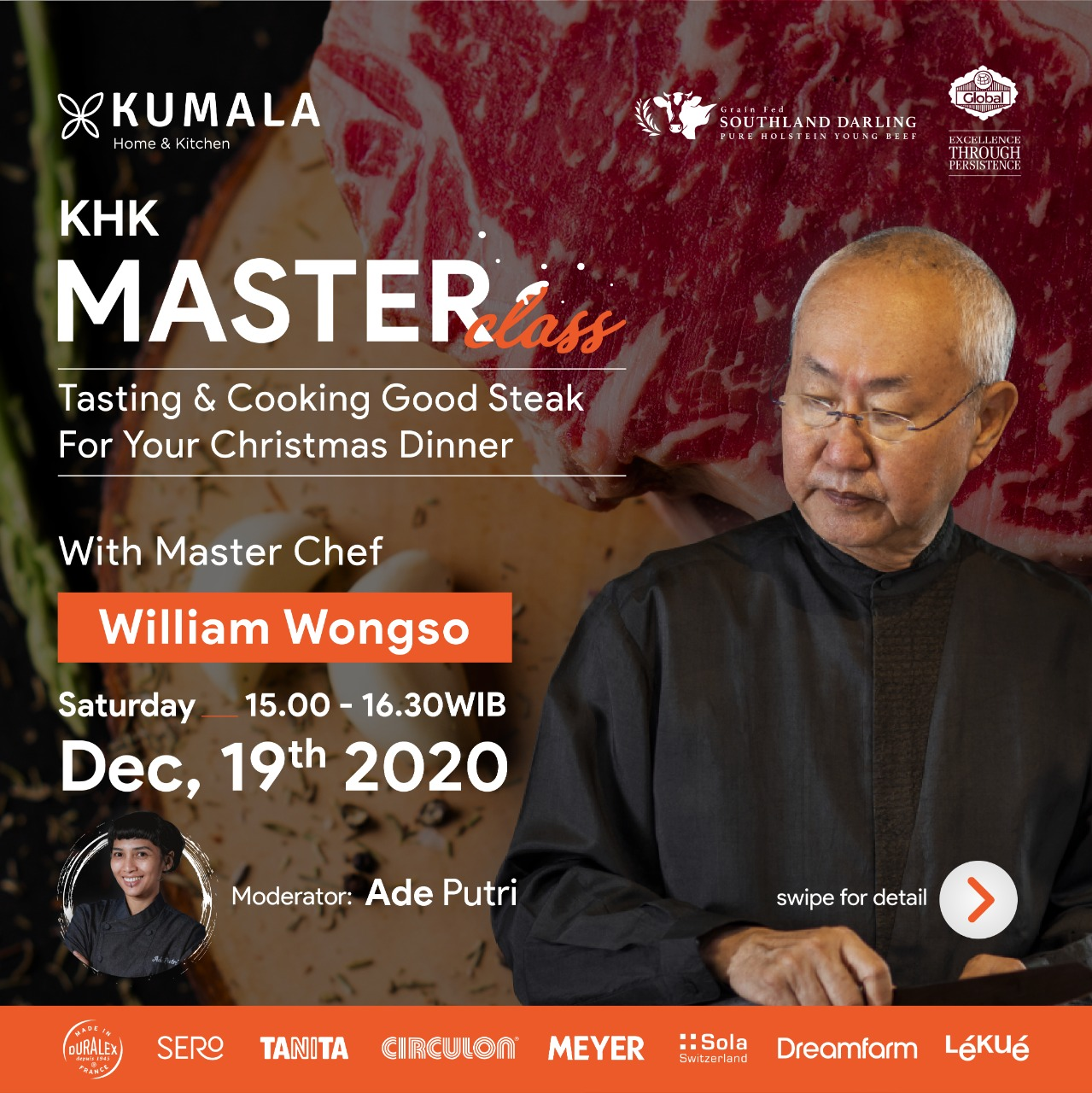 CHRISTMAS COOKING WITH MASTER CHEF WILLIAM WONGSO