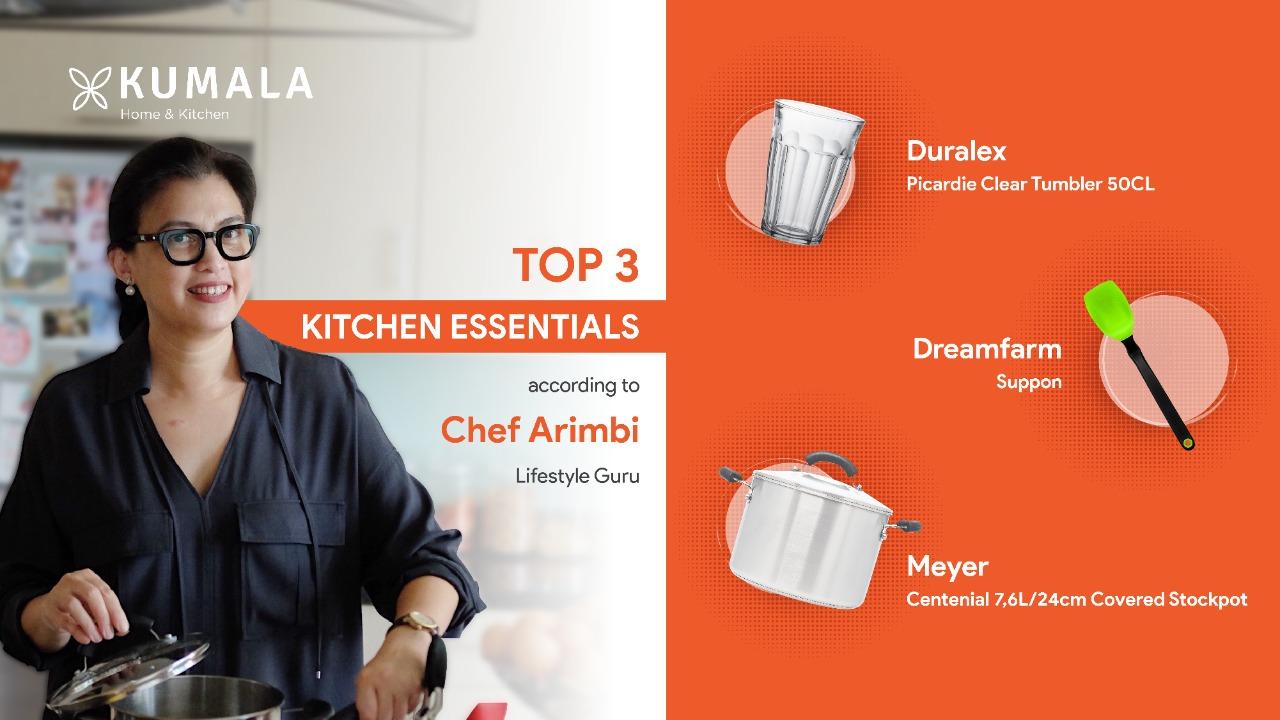 Top 3 Kitchen Essentials According to Chef Arimbi Nimpuno