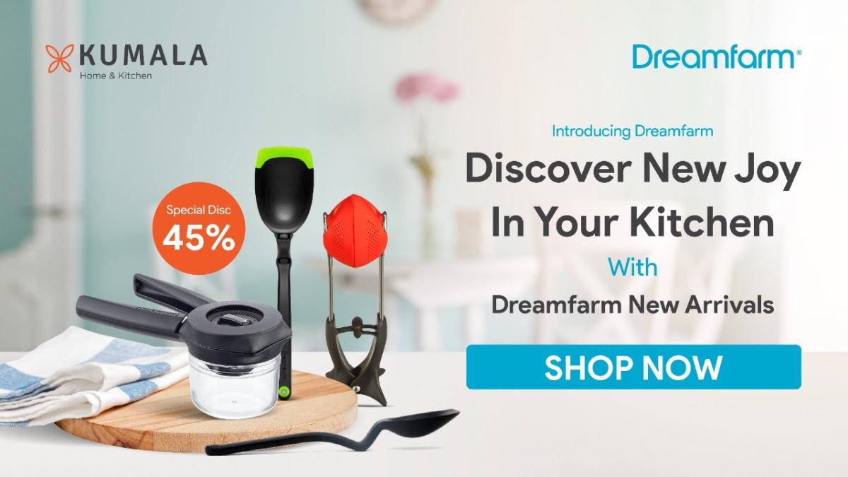 Discover New Joy with Dreamfarm Kitchen Gadget