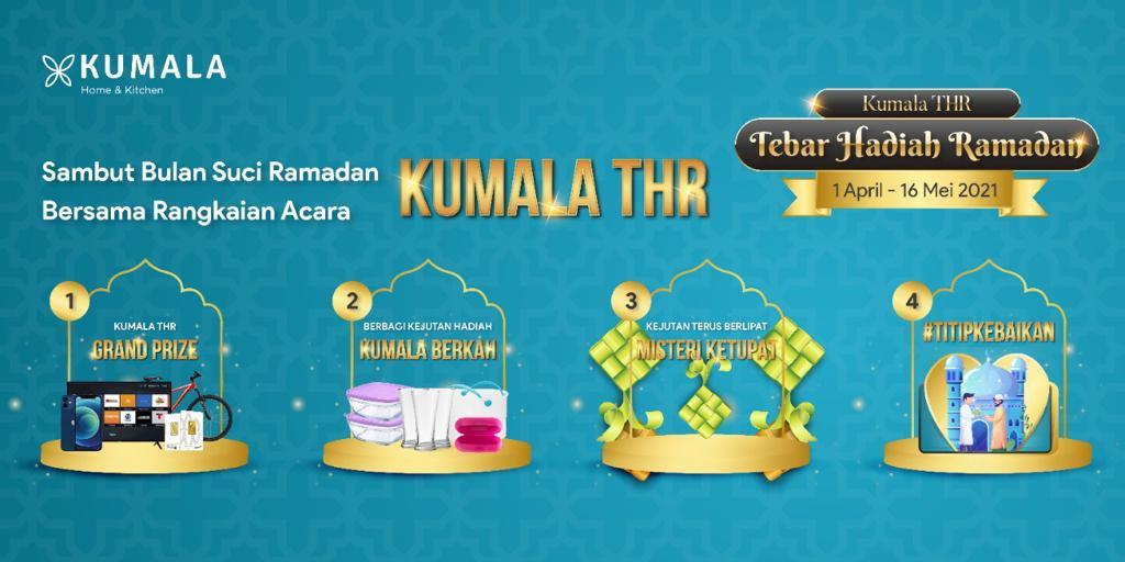 Sambut Ramadhan Bersama Kumala THR (Tebar Hadiah Ramadhan)