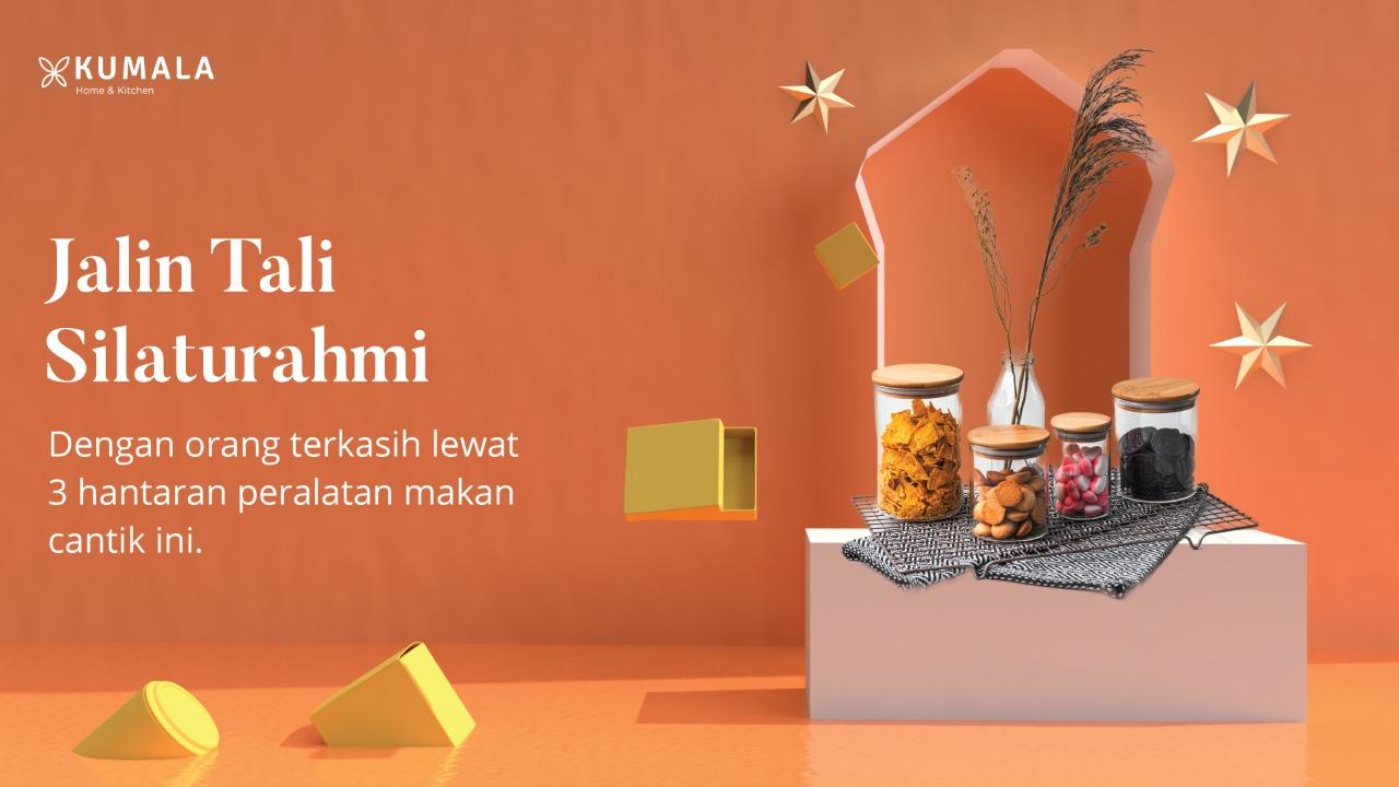 Jalin Tali Silaturahmi Dengan Orang Terkasih Lewat 3 Hantaran Peralatan Makan Cantik ini